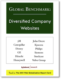 Global Benchmark: Diversified Company Websites
