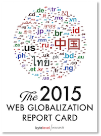 The 2015 Web Globalization Report Card