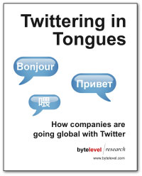 Twittering in Tongues